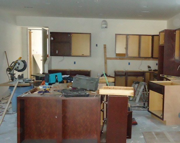 Commercial cabinets jobs for Residential cabinets
